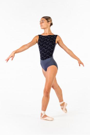 Justaucorps Ballet Rosa Lorrelle gris