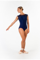 Ballet Rosa navy lace women leotard