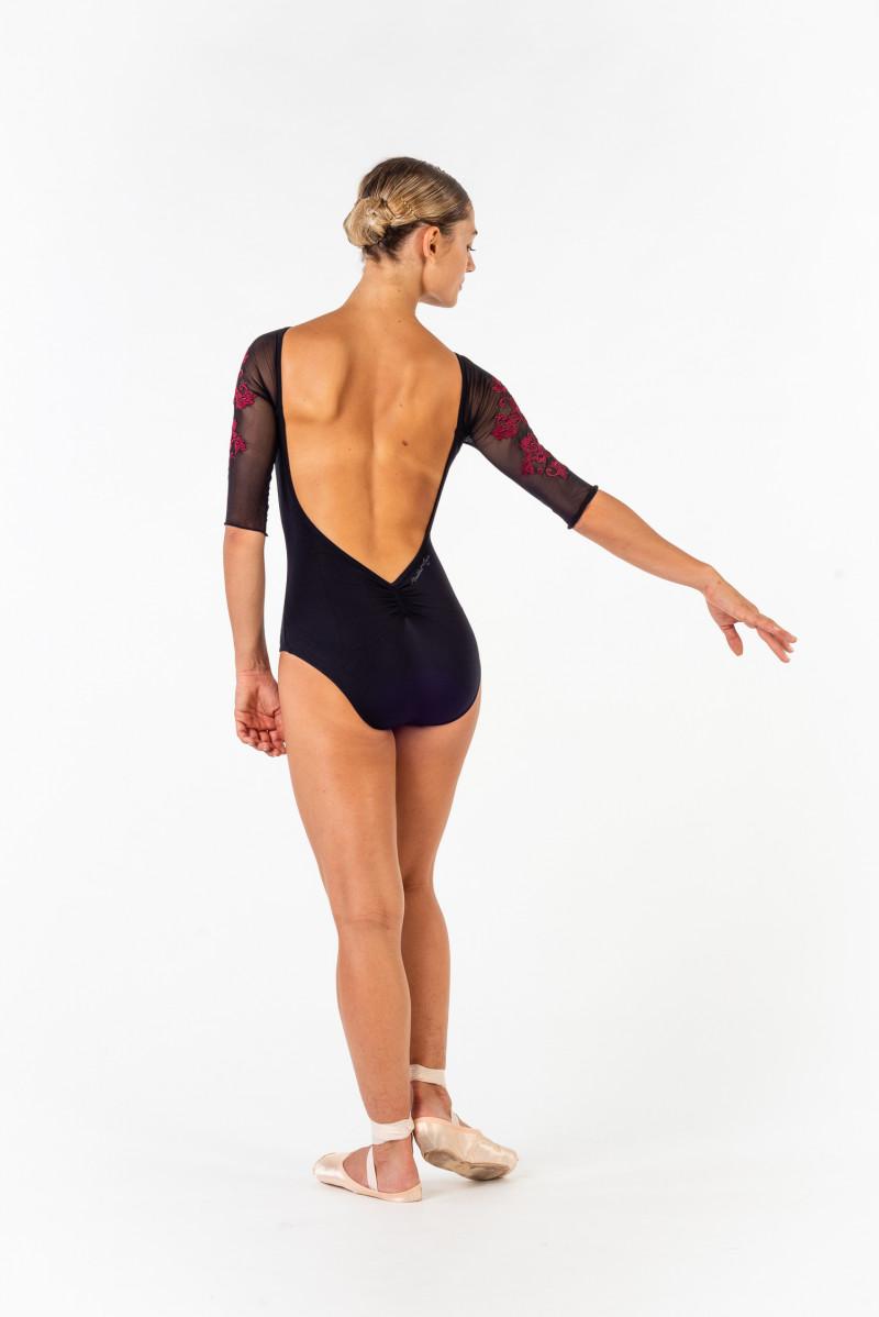 Justaucorps Ballet Rose collection Royal gigi noir