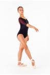 Justaucorps Ballet Rosa Gigi noir/bordeaux collection Royal