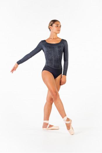 Justaucorps Ballet Rosa Lyman gris