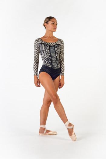 Leotard Ballet Rosa Lyman nude