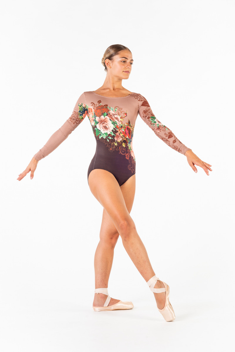 Justaucorps Ballet Rosa Laureline collection Isabelle Ciaravola