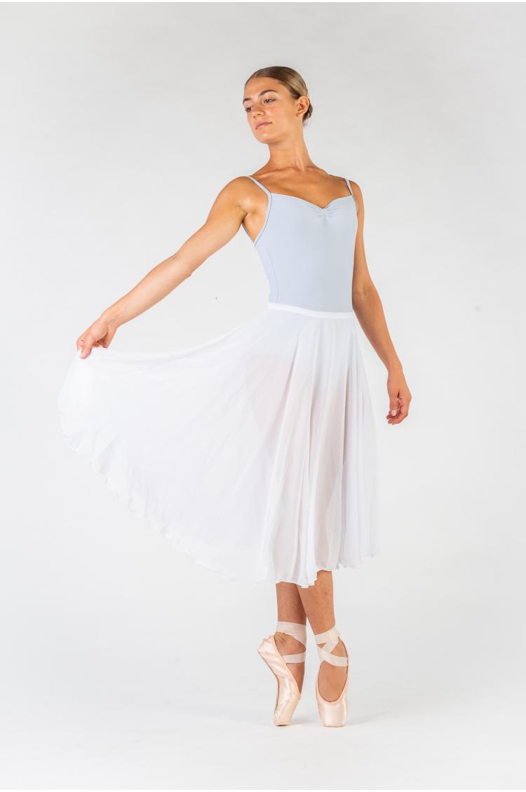Jupe longue Capezio white