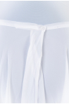 Capezio Mid Length Skirt White