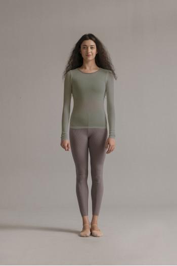 Tee Shirt SMK manches longues khaki grey