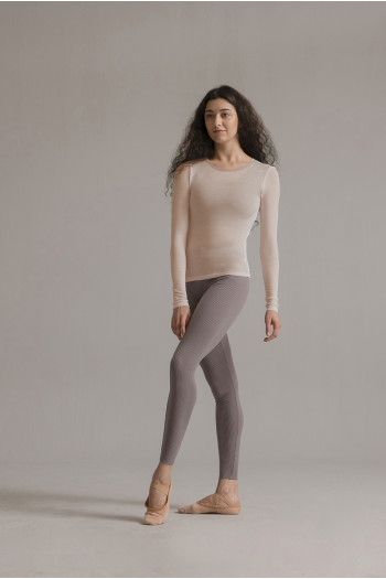 SMK dusty pink long sleeves t-shirt nude