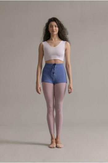 SMK organic cotton ballet short cream
