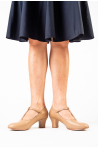 Chaussures de cabaret Bloch Roxie tan