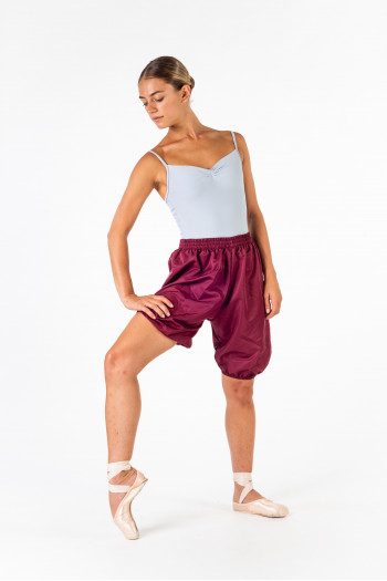 Short danse Gaynor Minden sudisette bordeaux