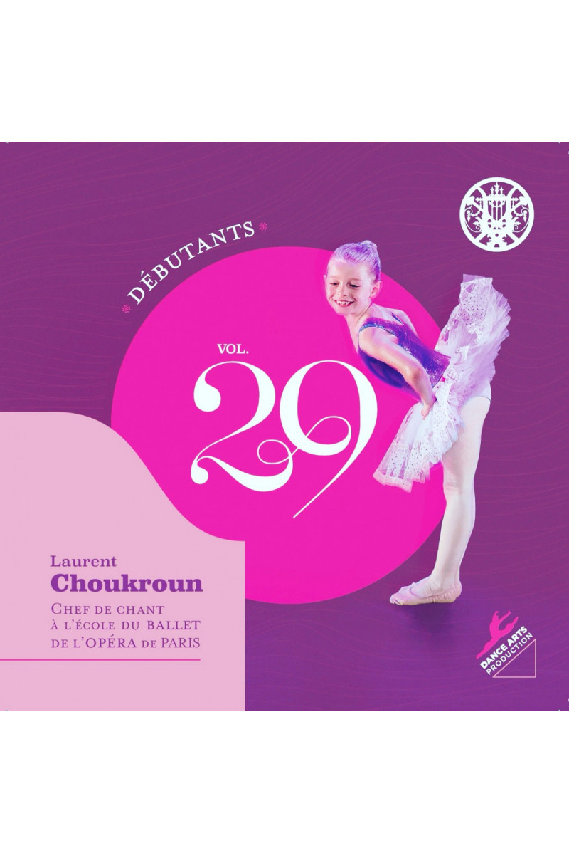 CD volume 29 Laurent Choukroun niveau débutants