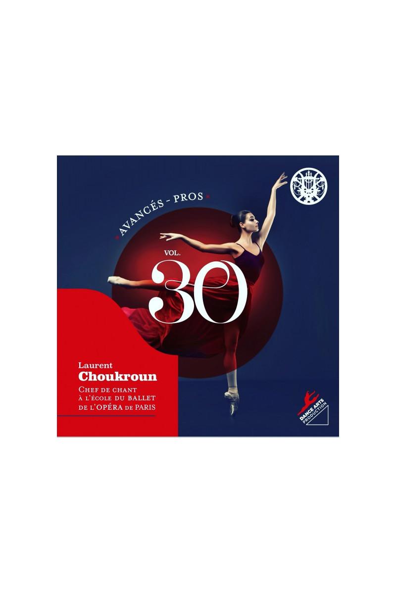CD volume 30 Laurent Choukroun niveau avancés-pros