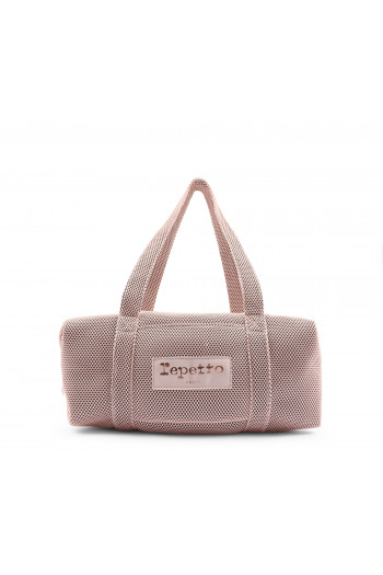 Sac Repetto polochon B0232M rose pâle