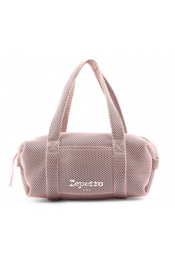 Sac Repetto grand polochon B0233M rose pâle