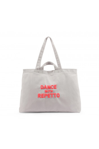 Repetto women tote bag gris perle