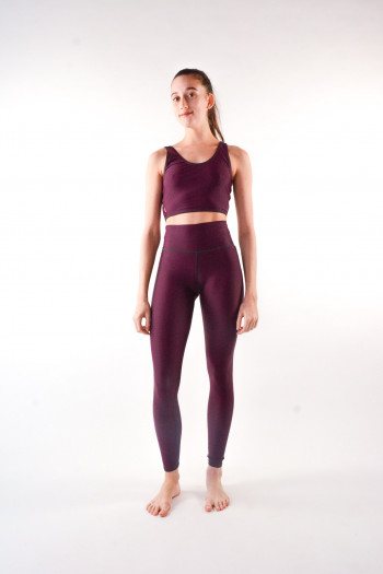 Legging Lilyplum Matt Bordeaux