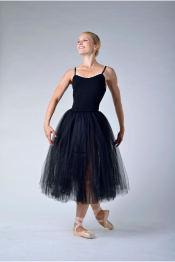 Repetto women black rehearsal skirt D0534
