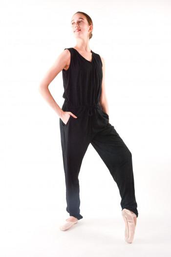Overall jumpsuit Temps Danse Adage black