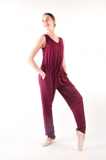 Temps Danse Adage Cover-heart Jumpsuit