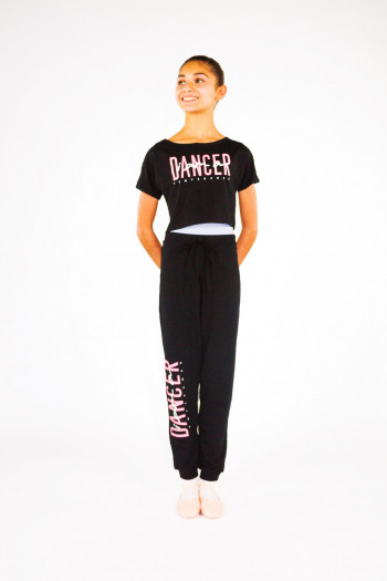 Temps Danse Affetto dancer pants for child Grafik logo