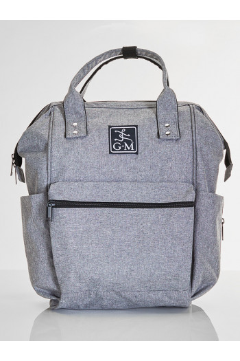 Backpack Gaynor Minden Studio Bag Heather Grey