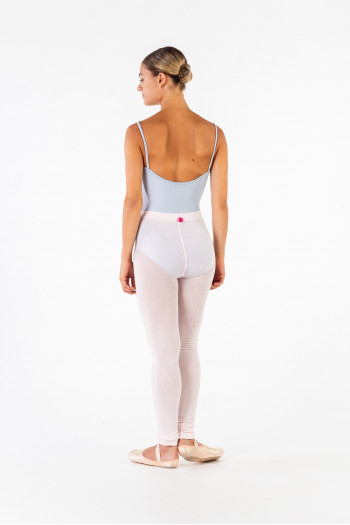Gaynor Minden light pink warm up tights