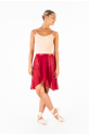 MDA women wrap long skirt