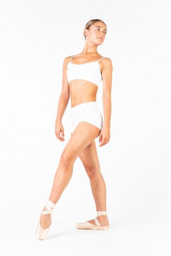 Capezio white shorts TB113