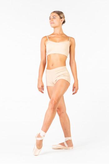 Capezio nud shorts TB113