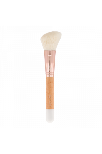 Blush brush beveled