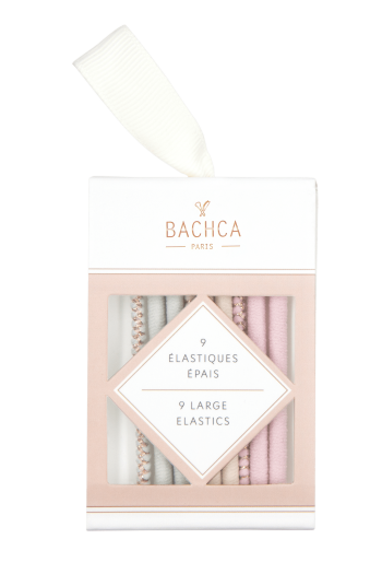 Tick elastics pastel and lurex Bachca