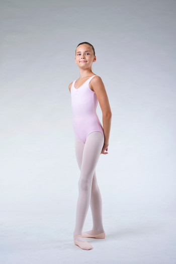 Justaucorps danse repetto enfant rose