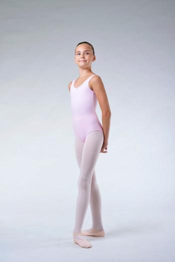 Repetto pale pink girl leotard DE580
