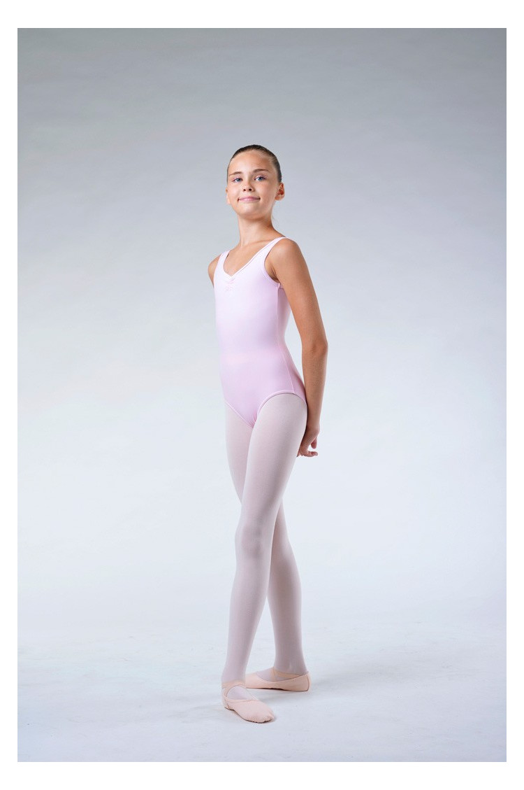 Repetto pale pink girl leotard DE580