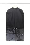 Clear Garment Bag black