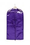 Clear Garment Bag purple