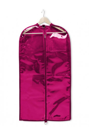 Clear Garment Bag pink