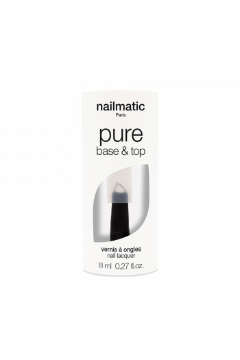 Nailmatic 2 in 1 Base and Top Coat Varnish