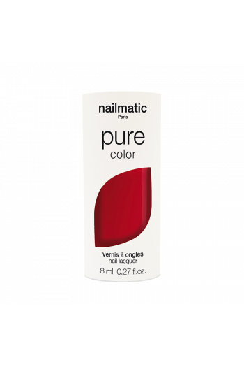 Nailmatic Pure Color Deep Red Nail Lacquer