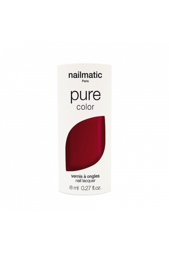Vernis biosourcé Bordeaux Nailmatic