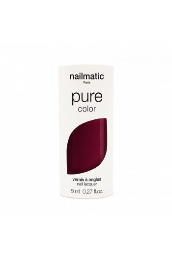 Pure Color Red Black Nailmatic Varnish