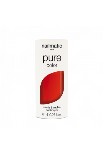 Vernis Pure Color Rouge Coquelicot Nailmatic