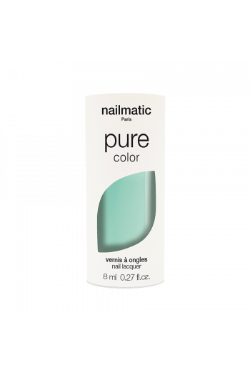 Vernis biosourcé Vert d'eau Nailmatic