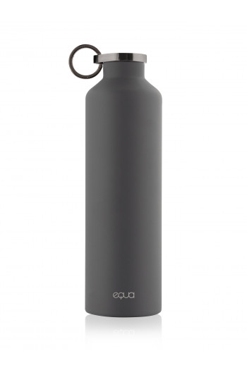 Bouteille thermo Equa stainless steel dark grey