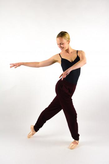 Repetto burgundy sarouel pants W0646