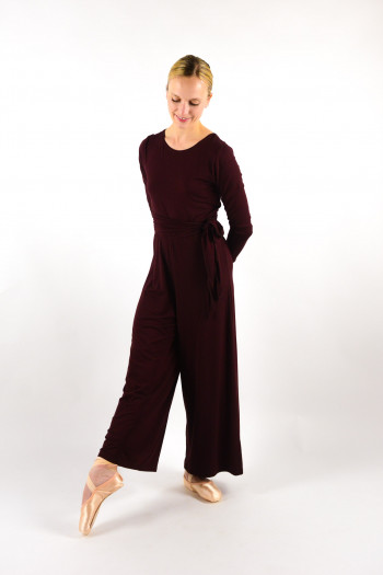 Jumpsuit Repetto W0666 viscose bordeaux