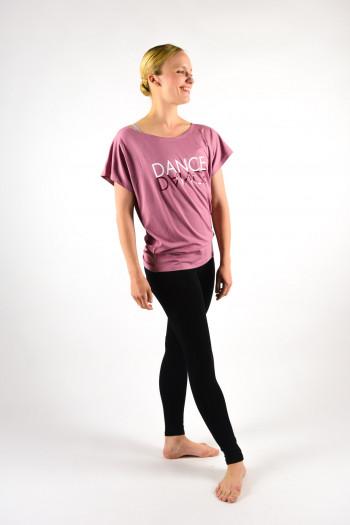 T-Shirt Temps danse Ava Mirror rosewood
