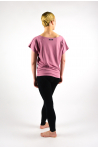 T-Shirt Temps danse Ava Mirror bois de rose