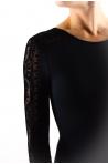 Leotard long sleeves 31491 black