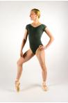 Ballet Rosa Frida olive leotard